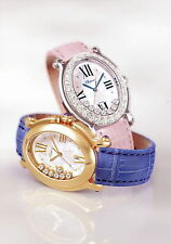 Pressefoto Chopard Happy Sport oval Ladies Watch Damen Uhr press photo GB F D I