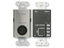 RDL DS-J1 Microphone Audio Extender Input Assembly/XLR/Terminal block/Stainless