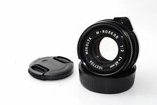"Minolta M-Rokkor 40mm f/2 CLE For Leica M-Mount ""Very Good""  #0913"