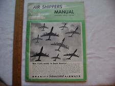 1963-64 Air Shippers Manual.  Magazine format. 128 pages. Lots of ads!