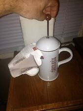 La Cafetiere La Chocolatiere Chocolate Pot 1 Liter 34 Oz Frothing Pitcher NEW