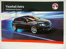 Vauxhall Audio Astra H Radio Cd & Bluetooth Manual Manual 2005 - 2013