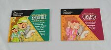 Lot of Smithsonian Collection Books Old Time Radio Showbiz Teams & Comedy DD5P8