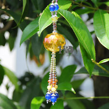 Champagne Maker Hanging Suncatcher Crystal Prisms Ball Rainbow Feng Shui Pendant