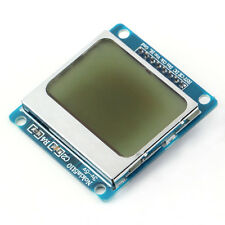 84*48 LCD Module Blue backlight adapter PCB for Nokia 5110 for Arduino Blue FT