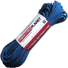 Royal Blue 100' 550 Paracord Mil Spec Type III 7 Strand Parachute Cord