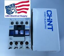 LC1D12 Schneider replacement Chint Contactor NC1210 With Coil 24VAC