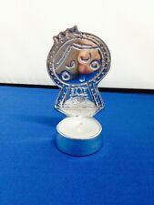 Virgencita plis Style Virgen pewter candleholder New made in Mexico