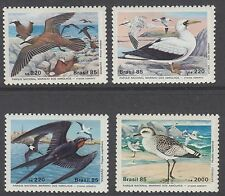 BIRDS :1985 BRAZIL Birds , Abrolhos Marine Park set SG2168-71 never-hinged mint