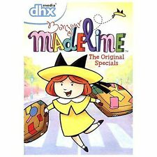 DVD BONJOUR MADELINE THE ORIGINAL SPECIALS 6 episodes PILOT Christmas Bad Hat