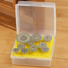 For Dremel Rotary Tool Set Diamond Saw Blade Cut Off Discs Wheel 2.35mm Mandrel