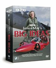 James Mays Big Ideas 3 DVD Set  MAN V MACHINE, POWER TO THE PEOPLE James May