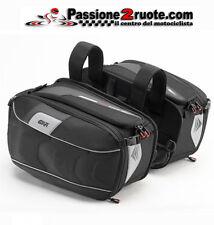 coppia borse laterali per moto e scooter givi xs314 side bags 25 LT universali