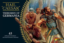 TRIBESMEN OF GERMANIA- HAIL CAESAR - WARLORD GAMES - 1ST CLASS-