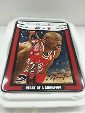 Michael Jordan Ticket to Greatness Heart of a Champion Upper Deck Bradford Plate