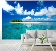 Wallpaper photo wall mural TROPICAL ISLAND VACATION PARADISE Large home decor
