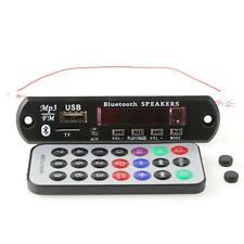 Car FM Radio LED Bluetooth MP3 WMA Decoder Car Board Audio Module 12V USB NEW