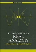 Introduction To Real Analysis 4th Int'l Edition