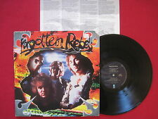 FORGOTTEN REBELS ~ UNTITLED (1989) HARD ROCK PUNK LP ~ RESTLESS 7-72357-1 EX