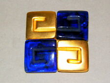 VINTAGE C1970 GILT LOGO BROOCH BY GIVENCHY, FRANCE