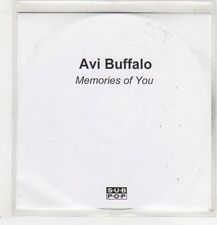 (GB875) Avi Buffalo, Memories of You - DJ CD