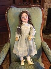 "Antique CM Bergmann German Waltershausen 25"" Doll 7a 1916 Porcelain Composition"
