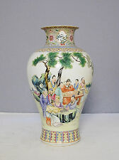 Chinese  Famille  Rose  Porcelain  Vase  With  Mark     M1420