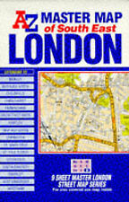 Master Map of Greater London: South-east Section by Geographers' A-Z Map Company