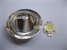 10W High Power LED+Diameter 44mm Optical Glass Lens +Lens RefleFor DIY led kit