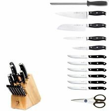 J.A. Henckels International Forged Premio 13-pc Knife Block Set 16931-000 NEW