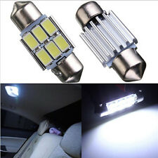 White 31MM 5630 SMD 6 LED Car Auto Festoon Dome Interior Map Reading Door Light