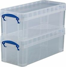 New Really Useful 20 DVD Media Storage Box - Neutral Stackable