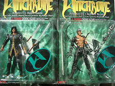 Nottingham & Kenneth Irons Witchblade Action Figurines by Top Cow 1998 Sealed