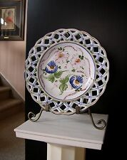 VTG PORTUGESE HP RETICULATED CABINET / WALL PLATE by CASA FINA PORTUGAL, 46