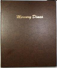 Dansco World Coin Library 1916-1945 Complete Silver Mercury Dimes Album