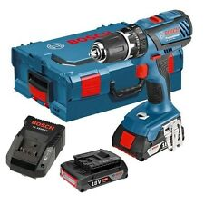 Bosch GSB182LI plus 18V Combi Perceuse sans fil Li-Ion 2x2Ah Batts L box gsb-18-2-li