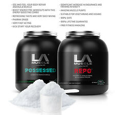LA Muscle Pre & Post Workout Ebay Special- RRP £80