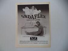 advertising Pubblicità 1981 RETI PER MATERASSO ONDAFLEX