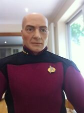 "Franklin Mint Star Trek USS Enterprise Captain Jean Luc Picard 17"" Figure  Doll"