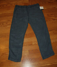 NWT Womens CALVIN KLEIN JEANS Lyocell SAILBOAT BLUE Casual Pants Sz XL X-Large