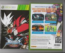 BLAZBLUE CONTINUUM SHIFT EXTEND XBOX 360 / X BOX 360