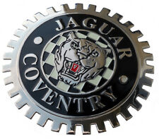 Jaguar growler XKE style car grille badge c/w grille mounting hardware