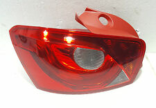 Seat Ibiza 2008 - 2012 5D Rear Tail Light Lamp Left Passenger N/S