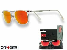RAY BAN LITE Ray Wayfarer Occhiali Da Sole transparent_silver_red SPECCHIO 4225 646 / 6Q