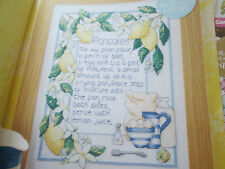 'Shove Tuesday Treat' Joanne Sanderson Cross Stitch Chart(only)