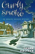 Curly Smoke: An Anneke Haagen Mystery-ExLibrary