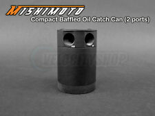 Mishimoto Compact Baffled Oil Catch Can 2-Ports