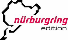 Nurburgring Nurenburg Edition Large Size Sticker Decal Graphic Vinyl Label