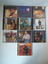 10 CD Lot Male Country Music Artists Diffie Black Kershaw Brown Chesnutt Raye