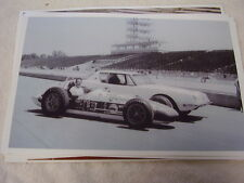 1963 STUDEBAKER AVANTI  AND INDY 500 RACE CAR 11 X 17  PHOTO  PICTURE